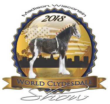 2018 World Clydesdale Show Logo